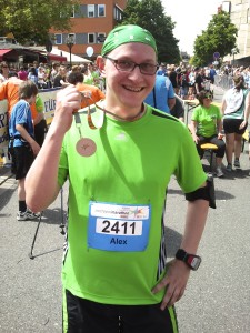 Halbmarathon Finisher 2013